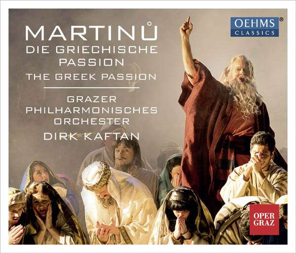 Bohuslav Martinu: Die Griechische Passion CD Cover